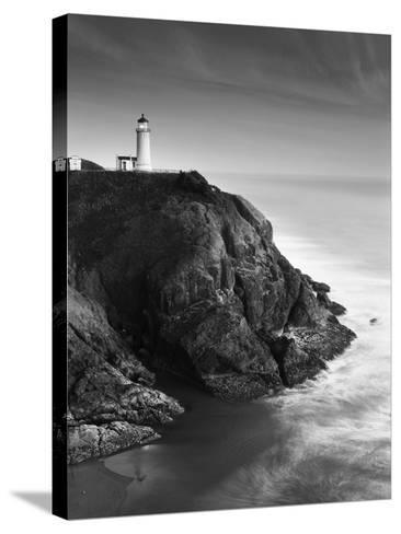 View of North Head Lighthouse, Oregon, USA-Stuart Westmorland-Stretched Canvas Print
