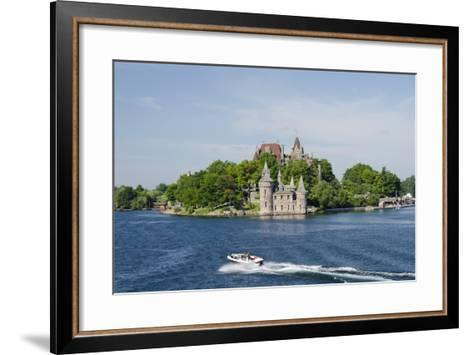 Boldt Castle, 'American Narrows', St. Lawrence Seaway, Thousand Islands, New York, USA-Cindy Miller Hopkins-Framed Art Print