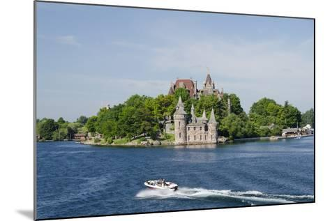 Boldt Castle, 'American Narrows', St. Lawrence Seaway, Thousand Islands, New York, USA-Cindy Miller Hopkins-Mounted Photographic Print