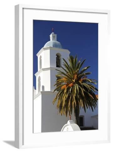 Old Mission San Luis Rey De Francia, Oceanside, California, USA-Kymri Wilt-Framed Art Print