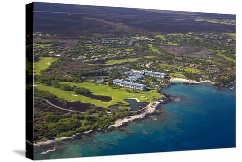 Mauna Lani Resort, North Kohala, Big Island, Hawaii, USA-Douglas Peebles-Stretched Canvas Print