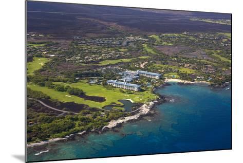 Mauna Lani Resort, North Kohala, Big Island, Hawaii, USA-Douglas Peebles-Mounted Photographic Print