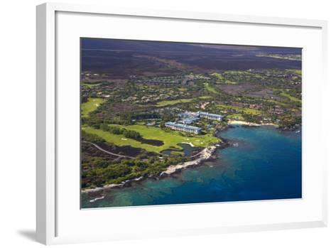 Mauna Lani Resort, North Kohala, Big Island, Hawaii, USA-Douglas Peebles-Framed Art Print