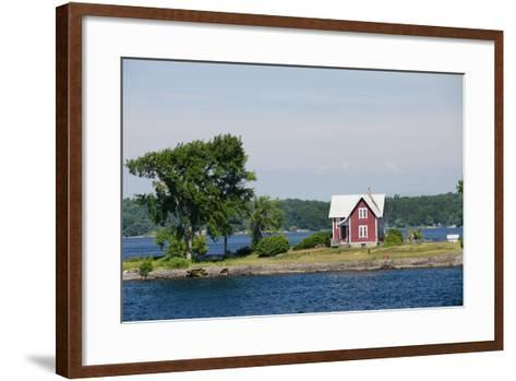 American Narrows' Waterway, St. Lawrence Seaway, Thousand Islands, New York, USA-Cindy Miller Hopkins-Framed Art Print