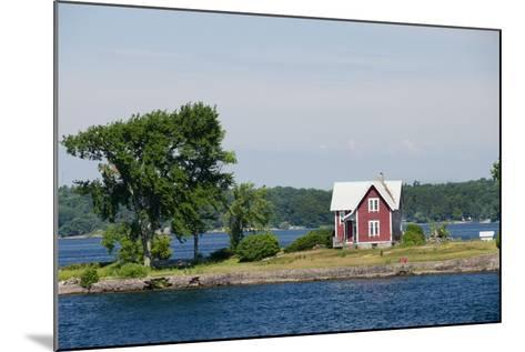 American Narrows' Waterway, St. Lawrence Seaway, Thousand Islands, New York, USA-Cindy Miller Hopkins-Mounted Photographic Print