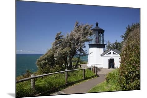 Cape Meares State Viewpoint, Cape Meares Lighthouse, Oregon, USA-Jamie & Judy Wild-Mounted Photographic Print