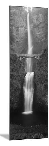 View of Multnomah Falls in Columbia Gorge, Oregon, USA-Walter Bibikow-Mounted Photographic Print