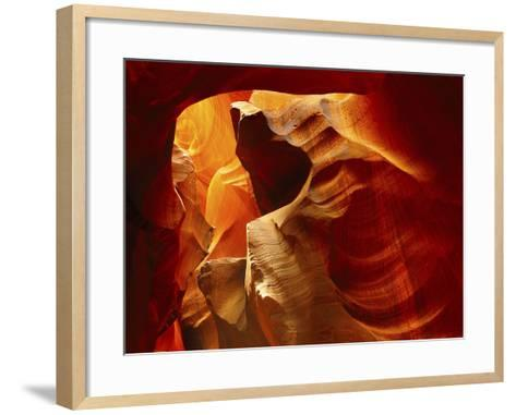 Upper Antelope Canyon, Page, Arizona, USA-Michel Hersen-Framed Art Print