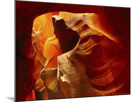 Upper Antelope Canyon, Page, Arizona, USA-Michel Hersen-Mounted Photographic Print
