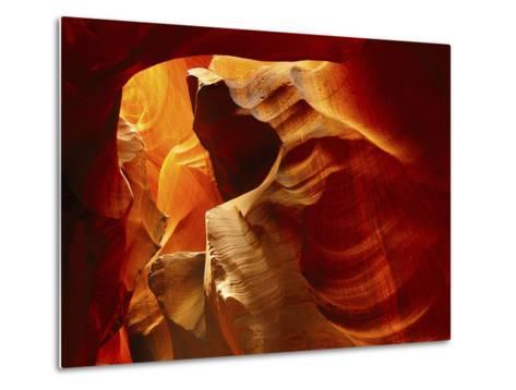 Upper Antelope Canyon, Page, Arizona, USA-Michel Hersen-Metal Print