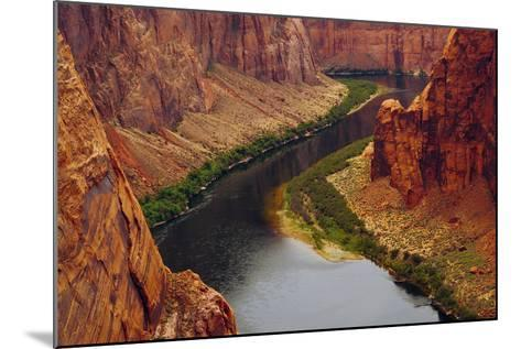 Colorado River from Page, Arizona Overlook, USA-Michel Hersen-Mounted Photographic Print