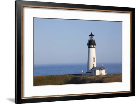Yaquina Head Lighthouse, 1873, Newport, Oregon, USA-Jamie & Judy Wild-Framed Art Print