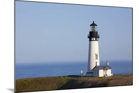 Yaquina Head Lighthouse, 1873, Newport, Oregon, USA-Jamie & Judy Wild-Mounted Photographic Print