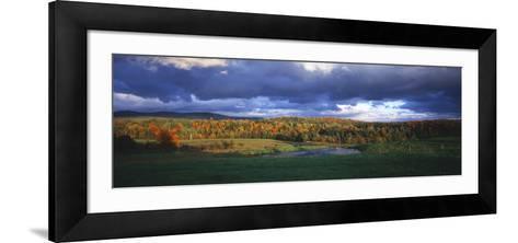 Eden, View of Field, Northeast Kingdom, Vermont, USA-Walter Bibikow-Framed Art Print
