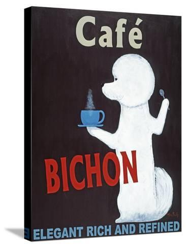 Bichon-Ken Bailey-Stretched Canvas Print