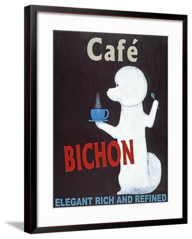 Bichon-Ken Bailey-Framed Art Print
