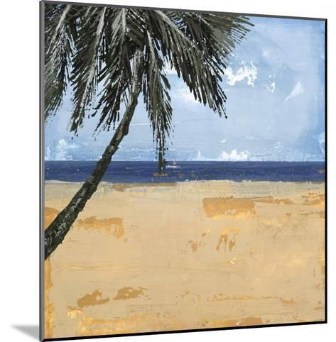 Peaceful Beach 1-David Dauncey-Mounted Premium Giclee Print