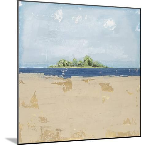 Peaceful Beach 2-David Dauncey-Mounted Premium Giclee Print
