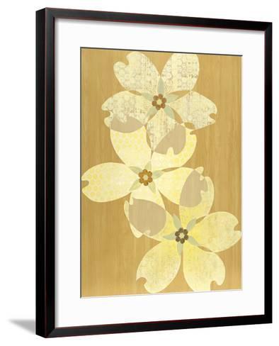 Flower Circus-Mary Calkins-Framed Art Print