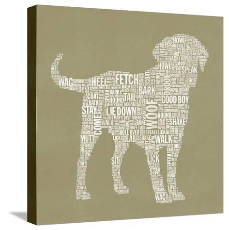 Dog Type 1A-Stella Bradley-Stretched Canvas Print