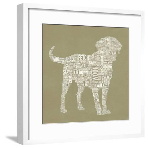 Dog Type 1A-Stella Bradley-Framed Art Print