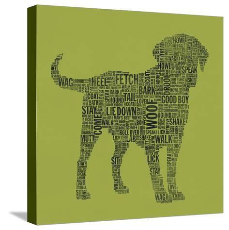 Dog Type 1D-Stella Bradley-Stretched Canvas Print