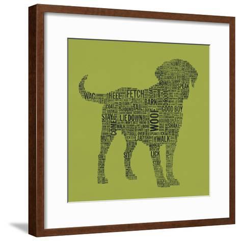 Dog Type 1D-Stella Bradley-Framed Art Print
