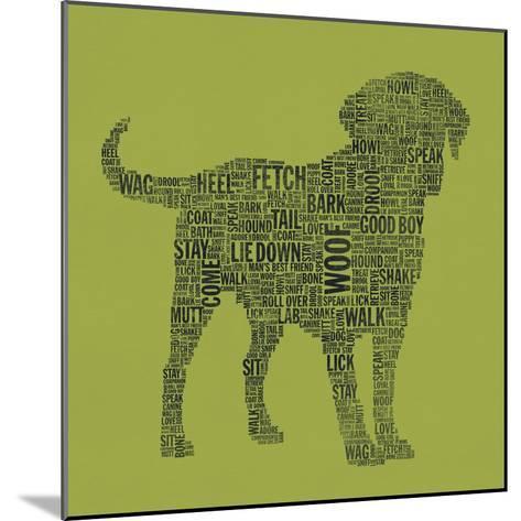 Dog Type 1D-Stella Bradley-Mounted Premium Giclee Print