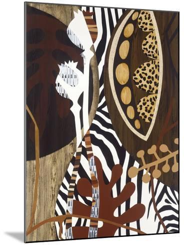 Safari 1-Mary Calkins-Mounted Premium Giclee Print