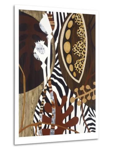 Safari 1-Mary Calkins-Metal Print