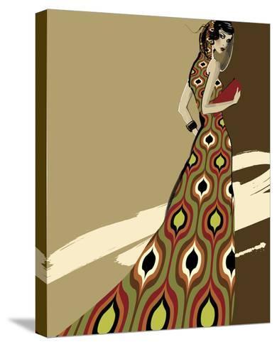 Fashionista I-Ashley David-Stretched Canvas Print