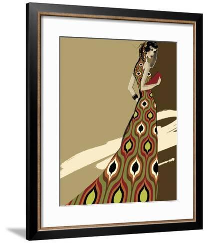 Fashionista I-Ashley David-Framed Art Print