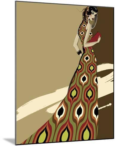 Fashionista I-Ashley David-Mounted Premium Giclee Print