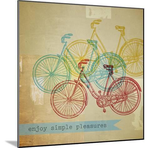 Bikes 1-Stella Bradley-Mounted Premium Giclee Print