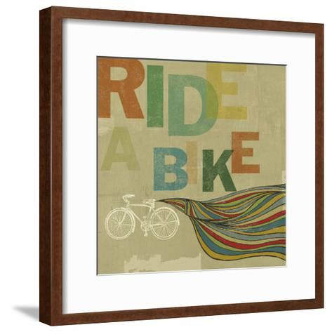 Bikes 2-Stella Bradley-Framed Art Print