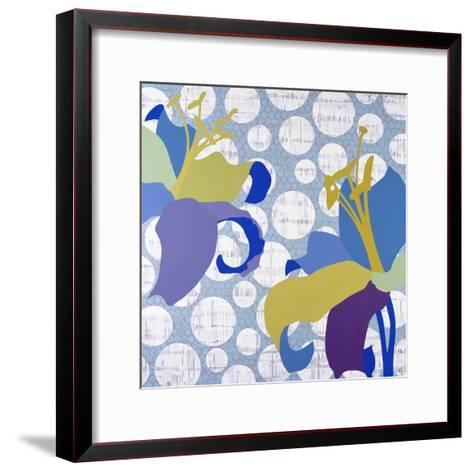 Purple Rain-Mary Calkins-Framed Art Print