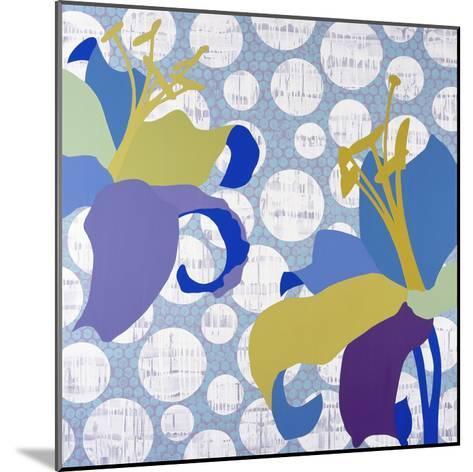 Purple Rain-Mary Calkins-Mounted Premium Giclee Print