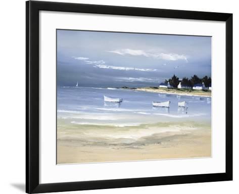 Coastal Inlet II-Fr?d?ric Flanet-Framed Art Print