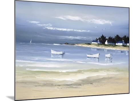 Coastal Inlet II-Fr?d?ric Flanet-Mounted Premium Giclee Print