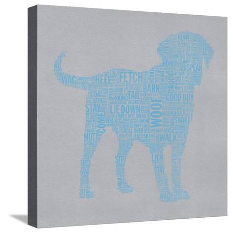 Lab 1a-Stella Bradley-Stretched Canvas Print