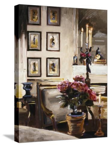 Comfortable Interior 1-Dennis Carney-Stretched Canvas Print