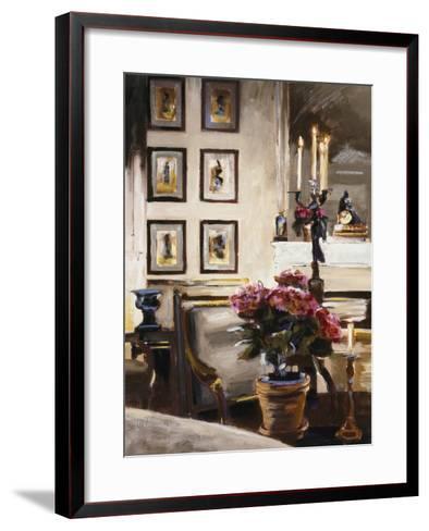 Comfortable Interior 1-Dennis Carney-Framed Art Print