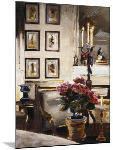 Comfortable Interior 1-Dennis Carney-Mounted Premium Giclee Print