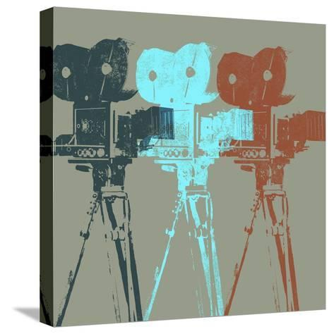 Projectors-Stella Bradley-Stretched Canvas Print