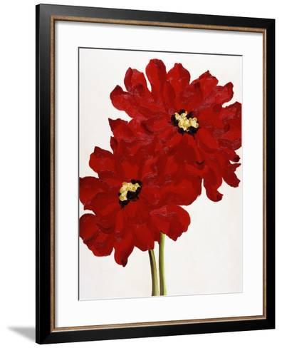Red Splendor I-Soraya Chemaly-Framed Art Print