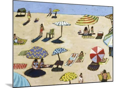 Sunday At The Beach-David Dimond-Mounted Premium Giclee Print