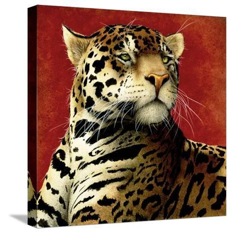 Fire Cat-Will Bullas-Stretched Canvas Print