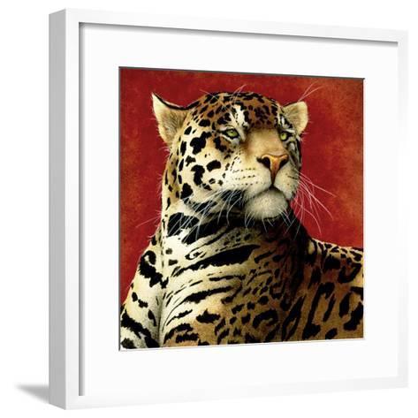 Fire Cat-Will Bullas-Framed Art Print