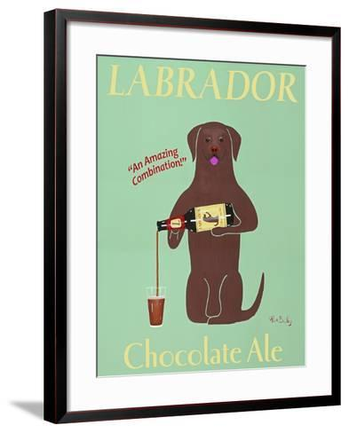 Lab Chocolate Ale-Ken Bailey-Framed Art Print