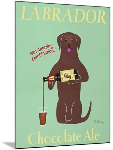 Lab Chocolate Ale-Ken Bailey-Mounted Premium Giclee Print